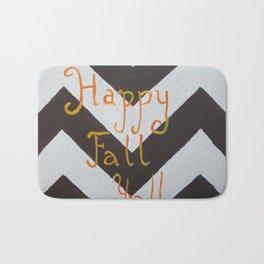 Happy Fall, Y'all Bath Mat