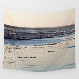Beach Sunset Ormond Beach Wall Tapestry