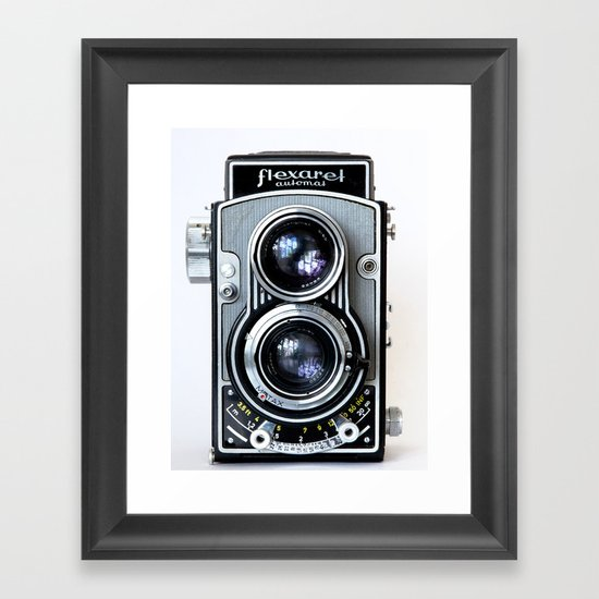Flexaret Vinatge Camera Framed Art Print