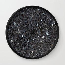 Labrador Emerald Pearl Granite Wall Clock