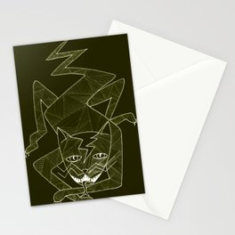 Lizard Cat Stationery Cards