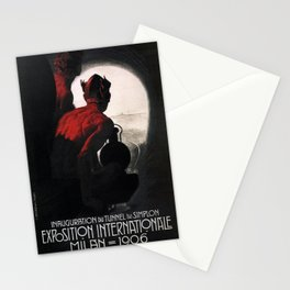 Vintage poster - Milan Stationery Cards