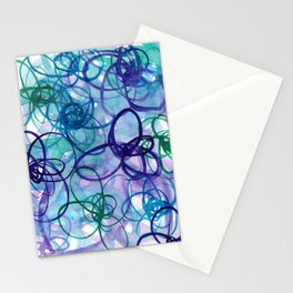 Cool Hilma Spirals Stationery Cards