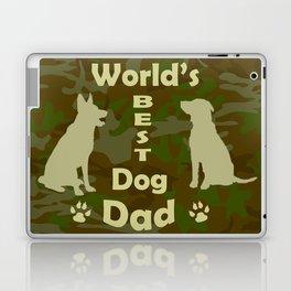World's Best Dog Dad Laptop & iPad Skin