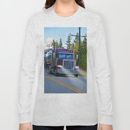 Trans Canada Trucker Long Sleeve T-shirt