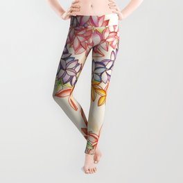 Plumeria Lei Shirt Leggings