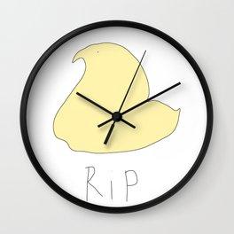 rip lil peep Wall Clock