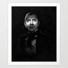 Bela Lugosi is Dead Art Print