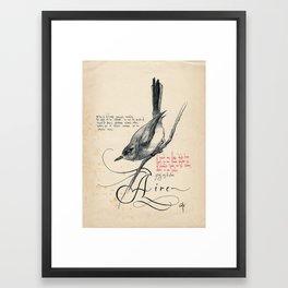 Bird 03 Framed Art Print