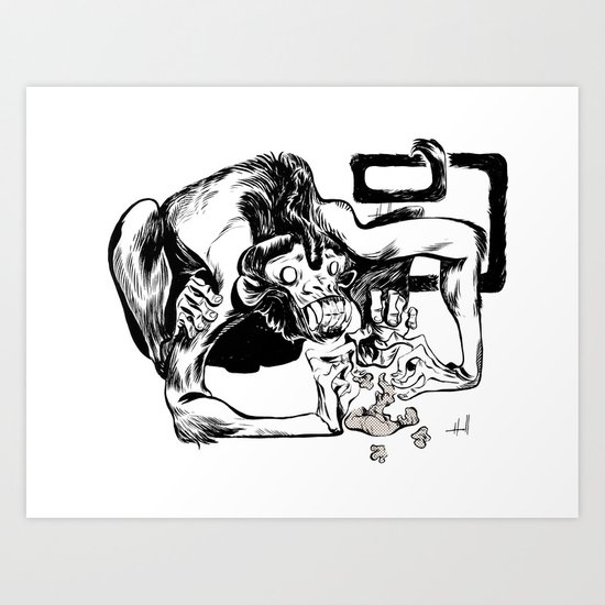 Keep your sh*t together Art Print