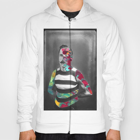 moustache color Hoody