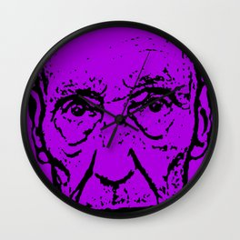Outlaws of Literature (William S. Burroughs) Wall Clock
