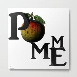 Pomme Metal Print