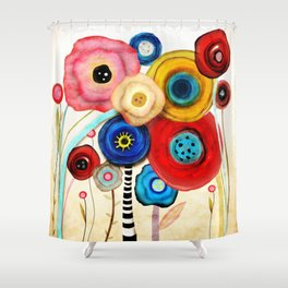 You will remember me Shower Curtain