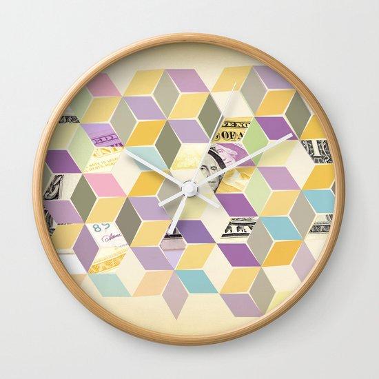 2 dollars Wall Clock
