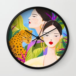 Garden Day Wall Clock