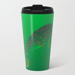 Colorful language of chameleons Travel Mug