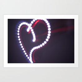Spark of Love Art Print