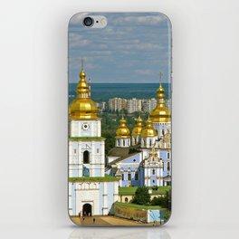Golden Domes of  Kiev iPhone Skin
