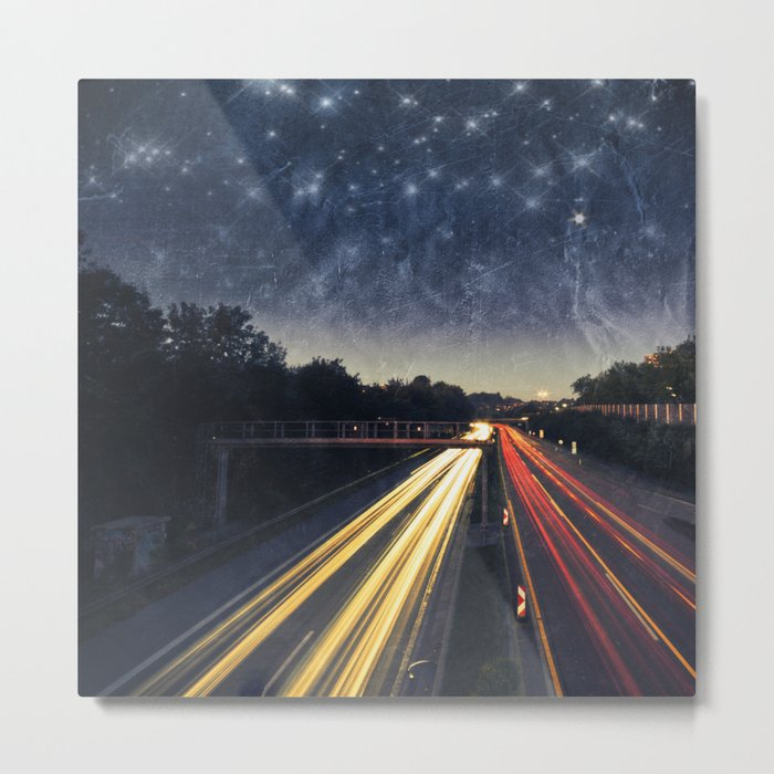 end of night Metal Print
