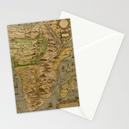 Map Of Africa 1597 Stationery Cards