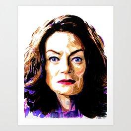 Miss Wardwell Art Print