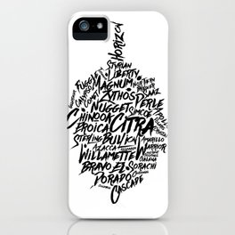 Hops! iPhone Case