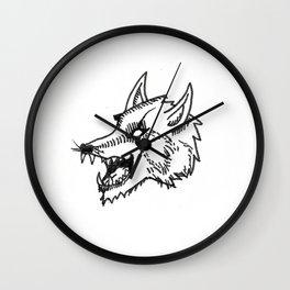 Werewolf Wall Clock