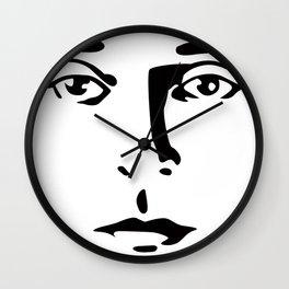 Silent Stars - Buster Keaton Wall Clock