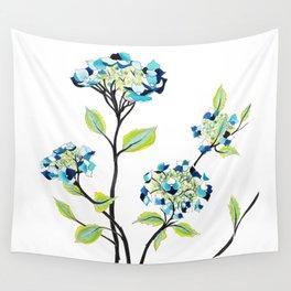 Hydrangea Wall Tapestry