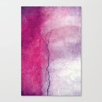 broken Canvas Prints featuring broken by Claudia Drossert