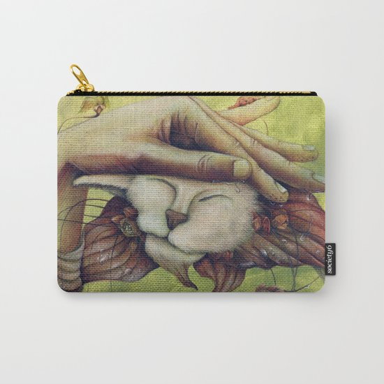 """E.A.Poe """"The Black Cat"""" Carry-All Pouch"""