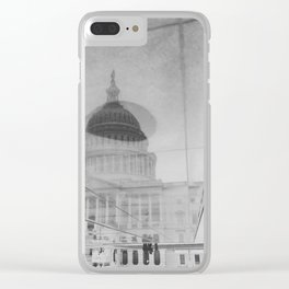 Capitol Reflection Clear iPhone Case