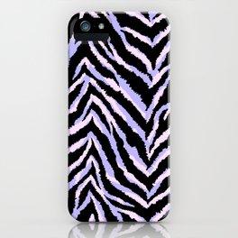 Zebra fur texture print II iPhone Case
