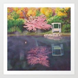 Spring Reflecion Art Print