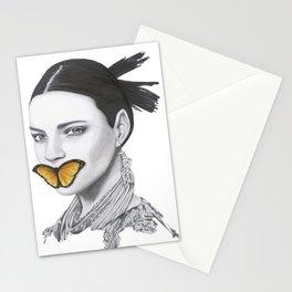 Speak No Evil - Flower Girl Series Stationery Cards