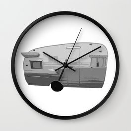 Trailer Trash Wall Clock