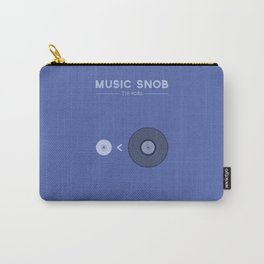 "NOT ""The New Vinyl"" — Music Snob Tip #082 Carry-All Pouch"