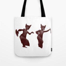 Bali dancers Tote Bag