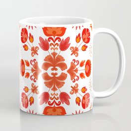 Fiesta Folk Red #society6 #folk Coffee Mug