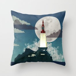 Tracy Island Throw Pillow