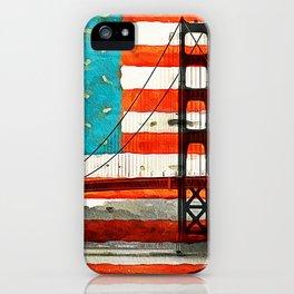 United Golden iPhone Case