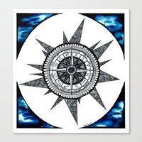 zodiac Canvas Prints featuring Zodiac  by HaleySayersArt