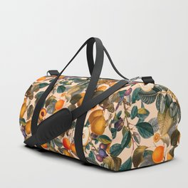 Vintage Fruit Pattern IX Duffle Bag