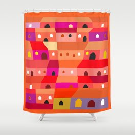 Guatemala City for Beginners Shower Curtain