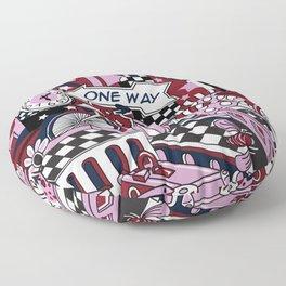 One Way Floor Pillow