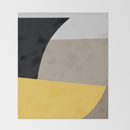 Mid Century Minimal 5 Throw Blanket