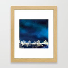 Because Some Things Are Worth Waiting For Framed Art Print