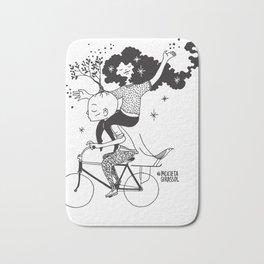 Espalhando Amor - Bicicleta Girassol Bath Mat