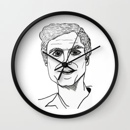 BUNDY DUVET Wall Clock